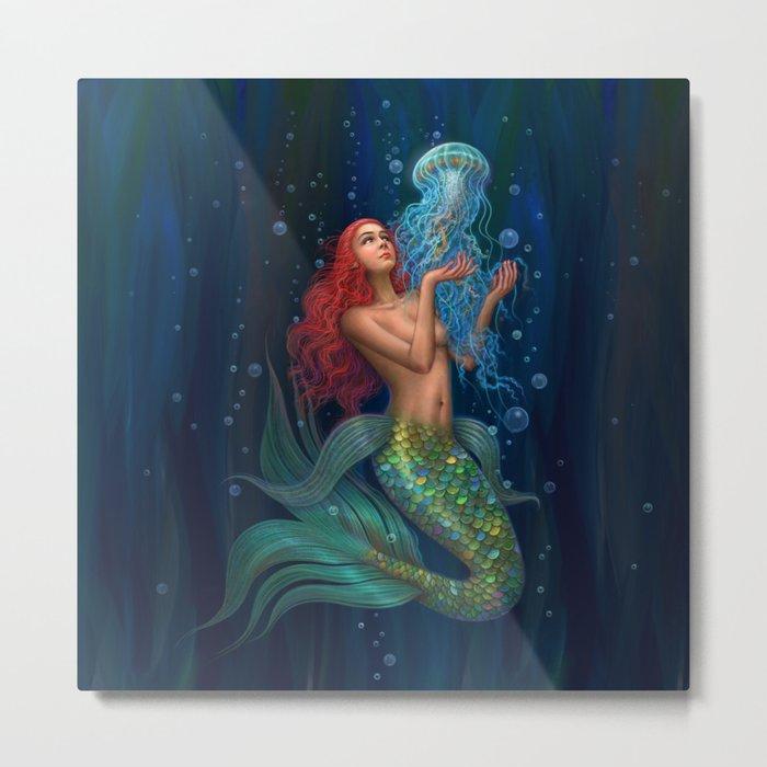 Beautiul mermaid Metal Print