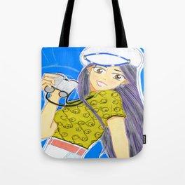 Emiko Sailing... Somewhere! Tote Bag