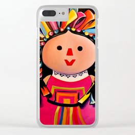 MEXICAN MARIA DOLL*** Clear iPhone Case