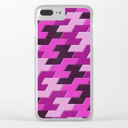 Geometrix XV Clear iPhone Case
