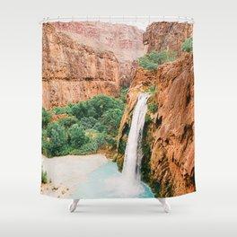 Havasu Falls / Grand Canyon, Arizona Shower Curtain
