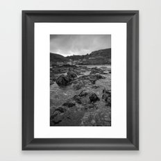 St Agnes From The Sea Framed Art Print