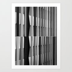 Intersections 2 Art Print