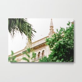 Hotel Alfonso XIII in Sevilla, Spain, Travel Photography Metal Print