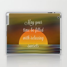 Relaxing Sunsets Laptop & iPad Skin