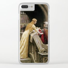 Edmund Blair Leighton - God Speed Clear iPhone Case