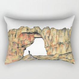 Rocky Rectangular Pillow