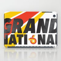 the national iPad Cases featuring Grand National by CynthiaLeduc