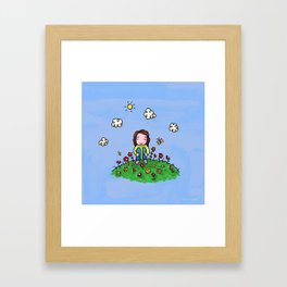 I am beautiful Framed Art Print