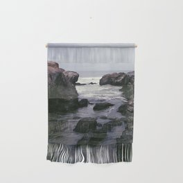 Dark and Rocky Coastline Wall Hanging