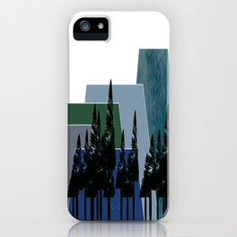 High Mountains iPhone Case
