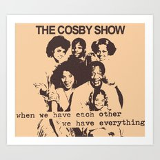 The Cosby Have No Pride Art Print