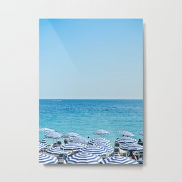 Hues of Blue Metal Print