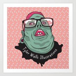 Selfie - Tyler Walls Illustrations Art Print