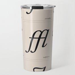 Ligature Travel Mug