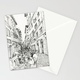 Via S. Lorenzo, Genova Stationery Cards