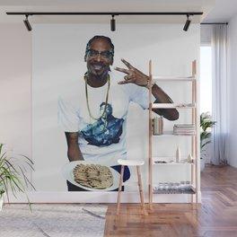 Snoop and Cookies Wall Mural
