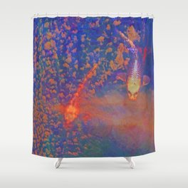 Fishys in da sky Shower Curtain