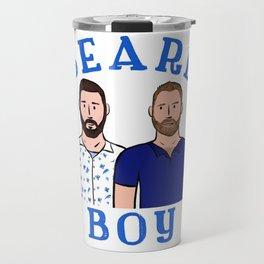 Beard Boy: Karl & Thomas Travel Mug