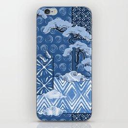 Shibori Quilt iPhone Skin