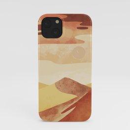 Hot Desert Day 1 iPhone Case