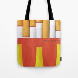 Unhappy Meal Tote Bag