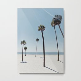 Palm trees 7 Metal Print