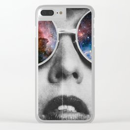 Seeing is believing Clear iPhone Case