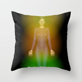 Thoughts Feelings and emotions Throw Pillow