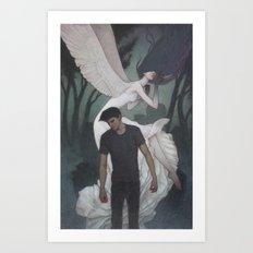 Shade of Night Art Print