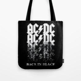 AC/DC - Back in Black Tote Bag