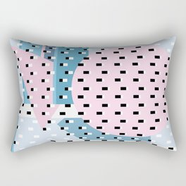 Hello City - New Day Rectangular Pillow