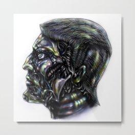 Robot me Metal Print