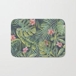 Palm Leaves Pattern 13 Bath Mat