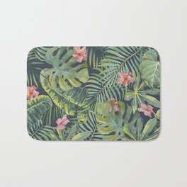 Palm Leaves Pattern 13 Bath Mat