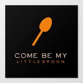 Little Spoon - Orange is the New Black Canvas Print