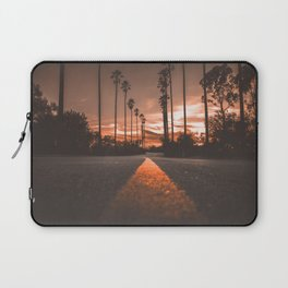 Road at Sunset Laptop Sleeve