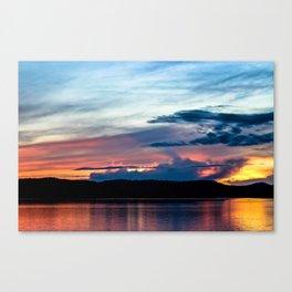 La Conner Sunset Canvas Print