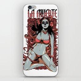 Death unfolds iPhone Skin