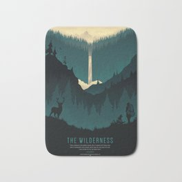 The Wilderness Bath Mat