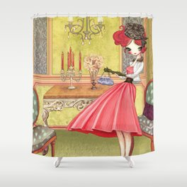 Victorian Liselle Shower Curtain
