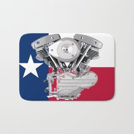 Texas Lone Star Shovel Bath Mat