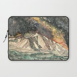 Mount Sopris and the Galaxy Laptop Sleeve
