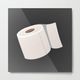 Toilet Paper Metal Print