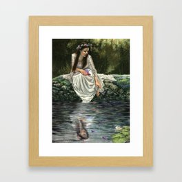 Ophelia's Lament Framed Art Print