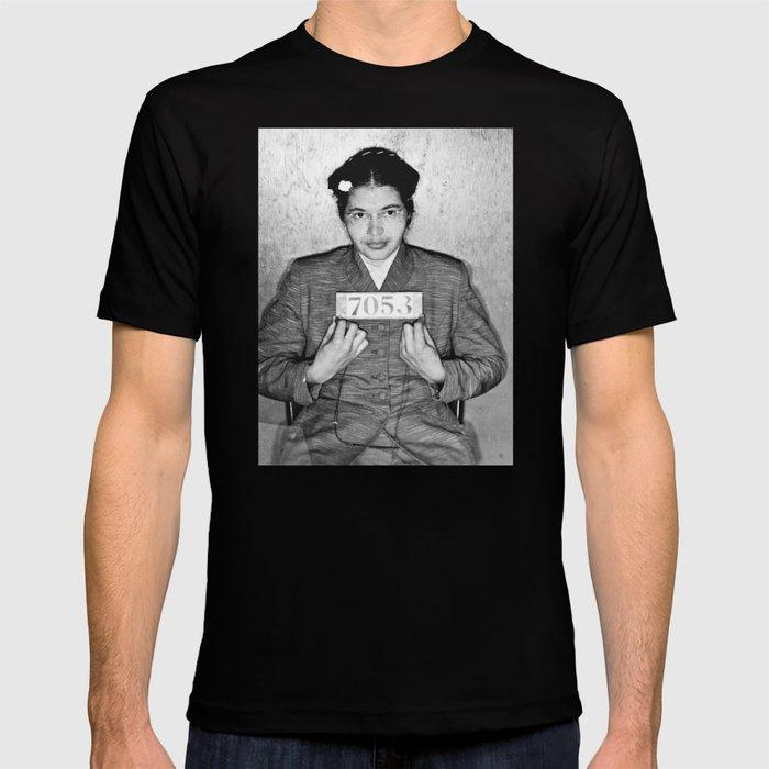 Genieße den niedrigsten Preis Online-Einzelhändler gut aussehen Schuhe verkaufen Rosa Parks Mugshot T-shirt by allsurfacesdesign