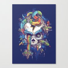Strangely familiar Canvas Print