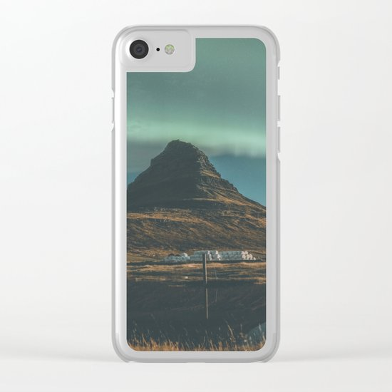 Kirkjufell, Iceland Clear iPhone Case