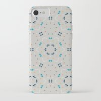 gold dots iPhone & iPod Cases featuring dots by Designed by Ruth