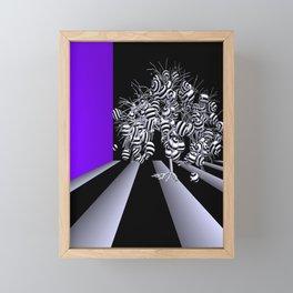just a fancy tree -210- Framed Mini Art Print